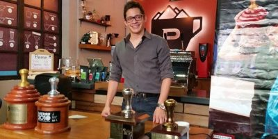 Ahora podrás disfrutar del café del reconocido barista Raúl Rodas