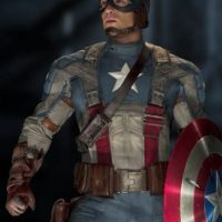 Durante la filmación, Evans solía retratarse con los fans que lo veían grabar en espacios públicos. Foto:vía facebook.com/CaptainAmerica