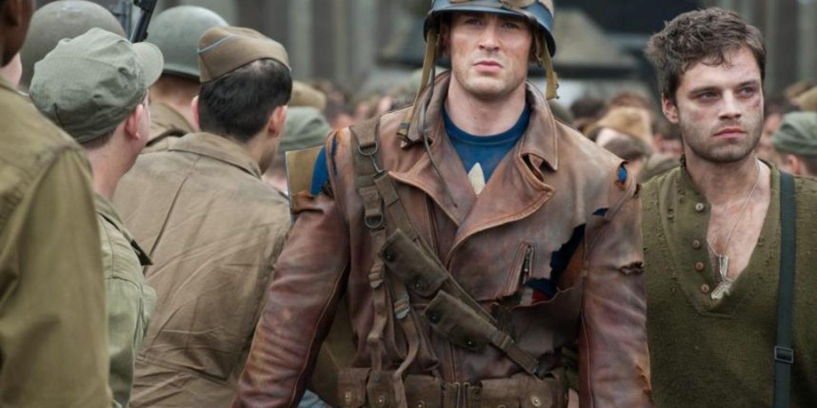 """Los productores querían que solo un estadounidense le diera vida a """"Steve Rogers"""" Foto:vía facebook.com/CaptainAmerica"""