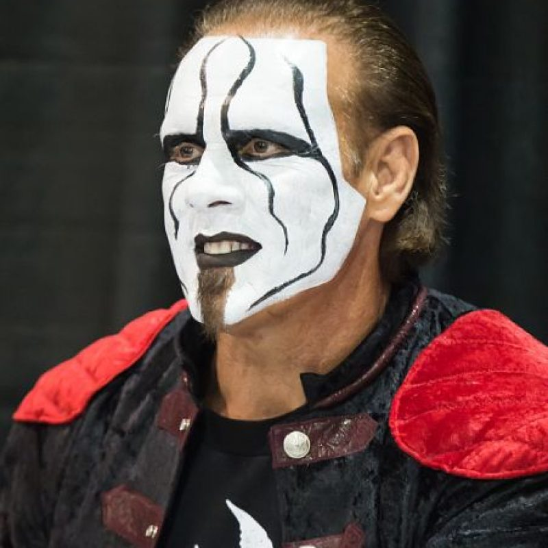 Sting es un luchador estadounidense de 56 años que participa en la WWE. Foto:Getty Images