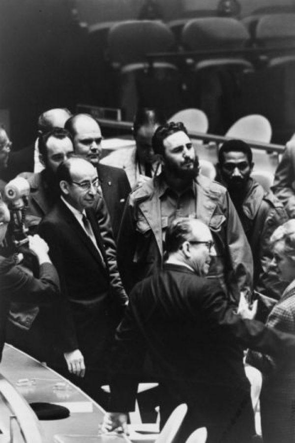 3. Fidel Castro en 1960, Primer Ministro de Cuba Foto:Wikimedia
