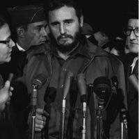 Unos años después de que la Revolución Cubana lo llevó al poder, Fidel Castro (en su carácter de Primer Ministro de Cuba), visitó Nueva York y participó en la Asamblea General Foto:Wikimedia