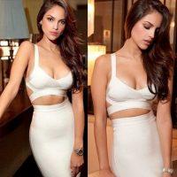 El escote de la actriz mexicana como lo conocemos Foto:vía instagram.com/eizagonzalez