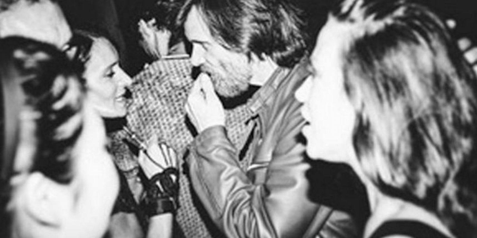 El actor se encontró con amigos y celebró toda la noche. Foto:vía instagram.com/littleirishcat