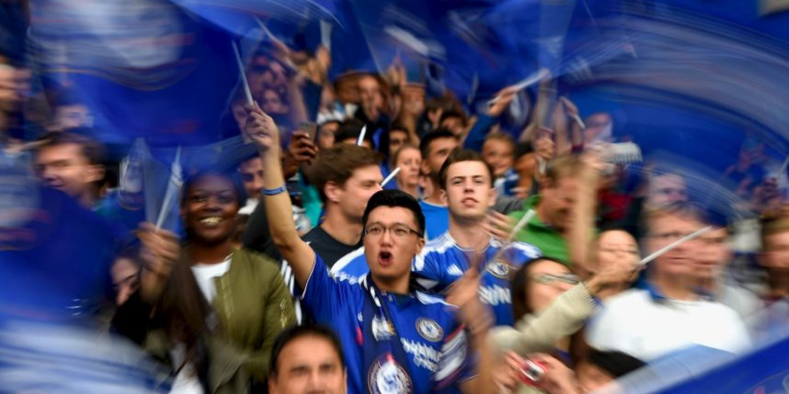 Según una encuesta de la casa de citas Match.com, los hinchas de Chelsea son los más feos de la Premier League. Foto:Getty Images