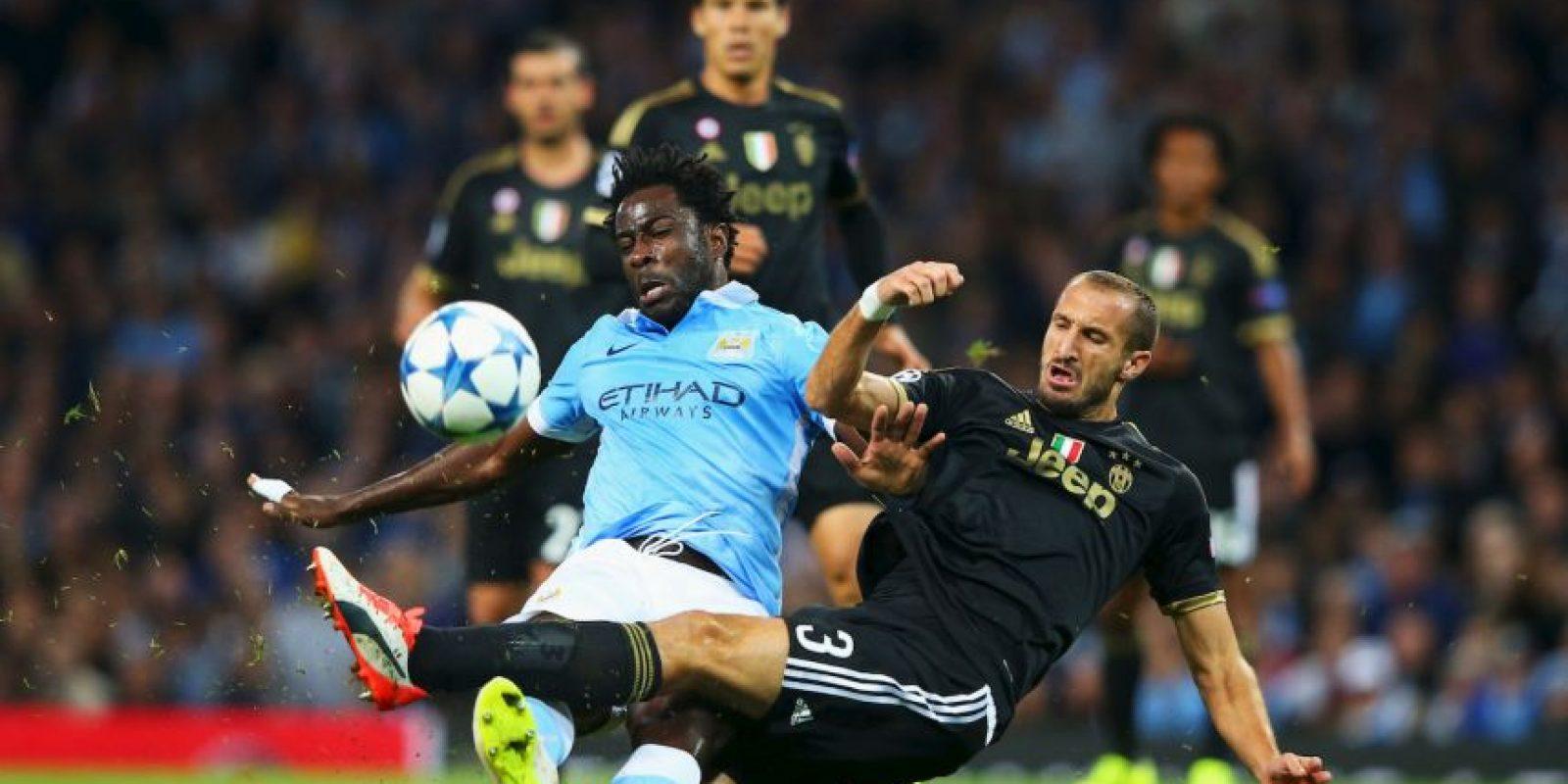 """El pasado 15 de septiembre, la """"Juve"""" debutó en Champions con una victoria sobre el Manchester City en Etihad Stadium. Foto:Getty Images"""