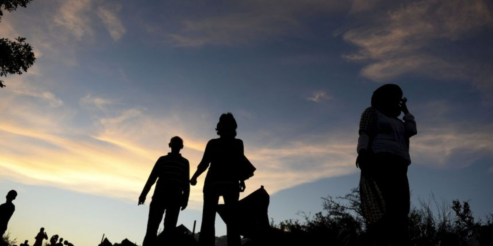 No necesariamente están atacando puntos militares [de ISIS], también están atacando a la sociedad civil y esto genera crisis, lo cual presiona la salida de migrantes, ahora refugiados. Foto:Getty Images