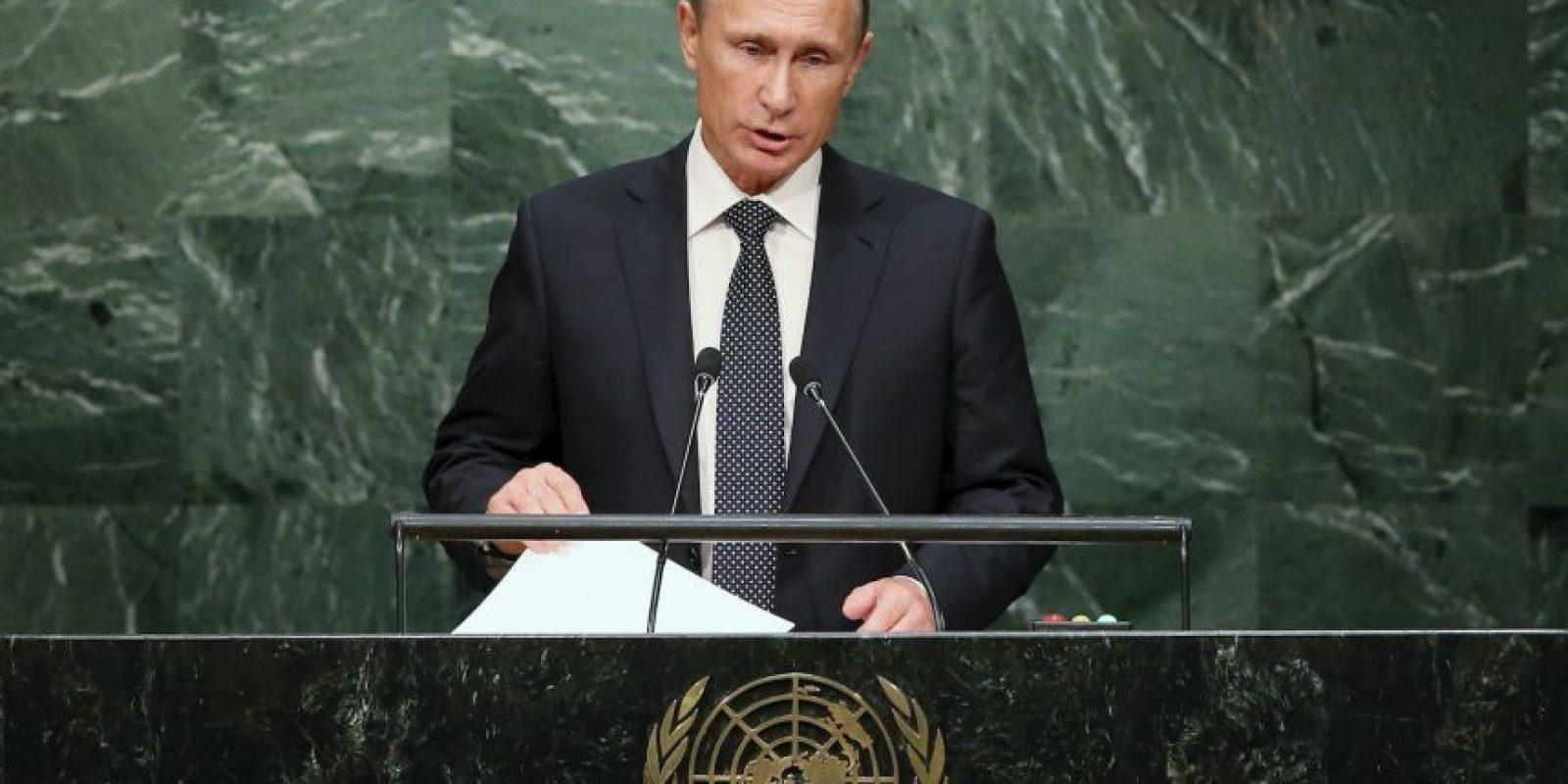 Quien declaró ante la ONU que brindaró apoyo a Bashar Assad durante la guerra contra ISIS. Foto:Getty Images