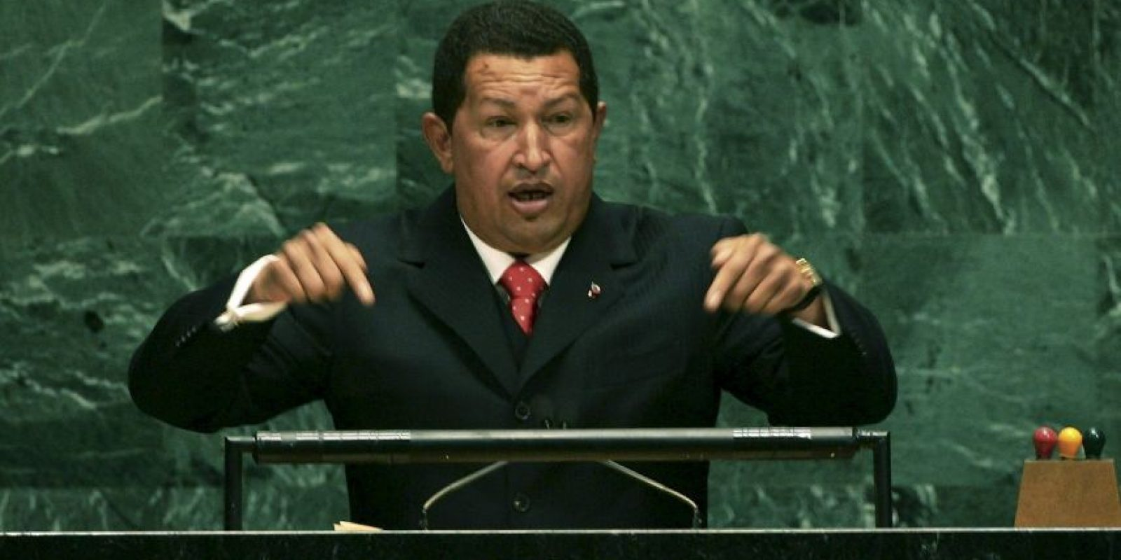 1. Hugo Chávez en 2006, presidente de Venezuela Foto: Getty Images