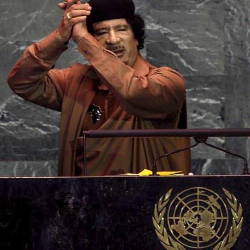 A los cuales comparó con la organización terrorista Al-Qaeda Foto:Getty Images