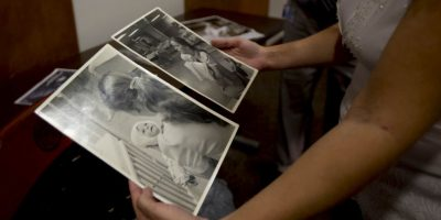 Amanda Scarpinati había sufrido quemaduras de tercer grado debido a que rodó en un humidificador de vapor. Foto:AP