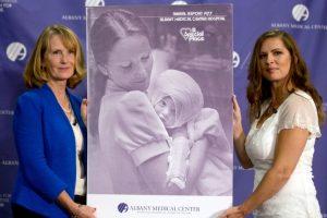 Con el nombre de Susan Berger. Foto:AP