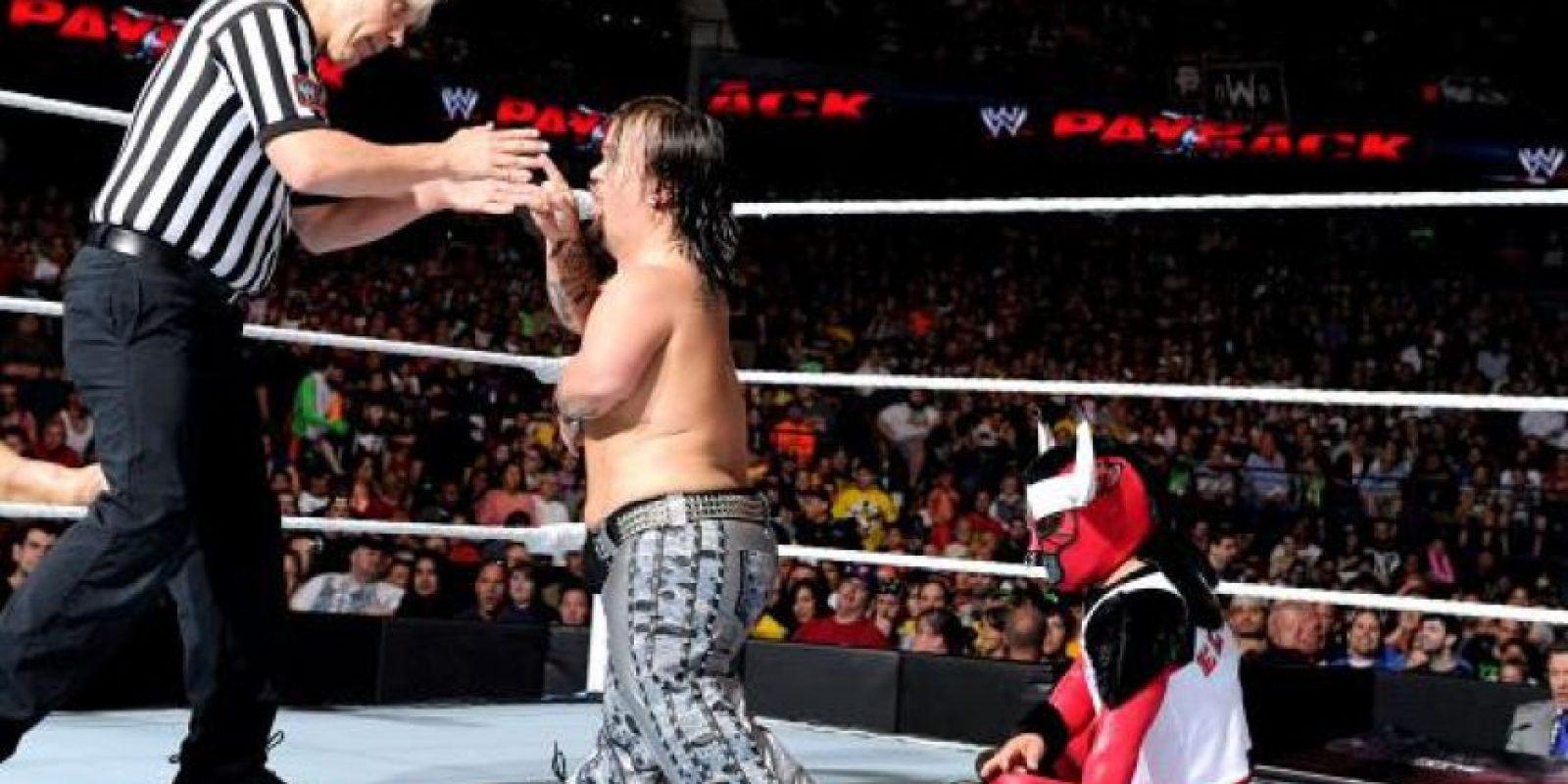 Su nombre real es Dylan Postl. Foto:WWE
