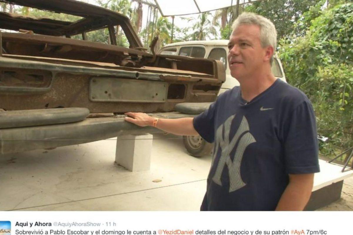 """Mató a 110 personas haciendo explotar un avión de Avianca en el aire, en 1989 (el vuelo 203). Aunque no lo hizo directamente, sí coordinó el atentado. Foto:vía Facebook/John Jairo Velásquez Vasques """"Popeye"""""""