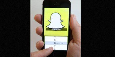 Snapchat, como toda red social, sirve para enviar muchas cosas. Foto:vía Getty Images