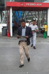 Se entregarán 100 mil ejemplares diarios en casi 100 puntos. Foto:Roberto Guzmán/Metro República Dominicana