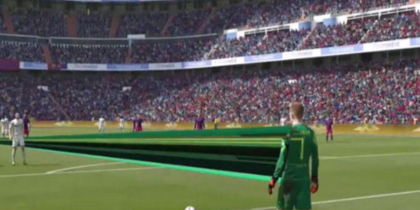 """3. Usuarios encuentran los primeros """"bugs"""" del demo """"FIFA 16″: El canal de YouTube """"emedeportesTV"""" publicó un video que recopila los mejores bugs y glitches del videojuego. Foto:MemedeportesTV/YouTube"""