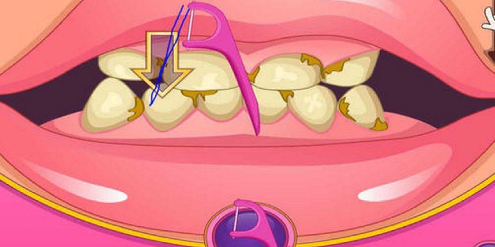 Esta app simula un visita al dentista Foto:corina rodriguez