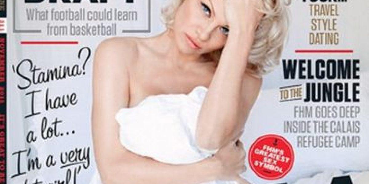 Pamela Anderson relató su experiencia íntima dentro de la mansión de