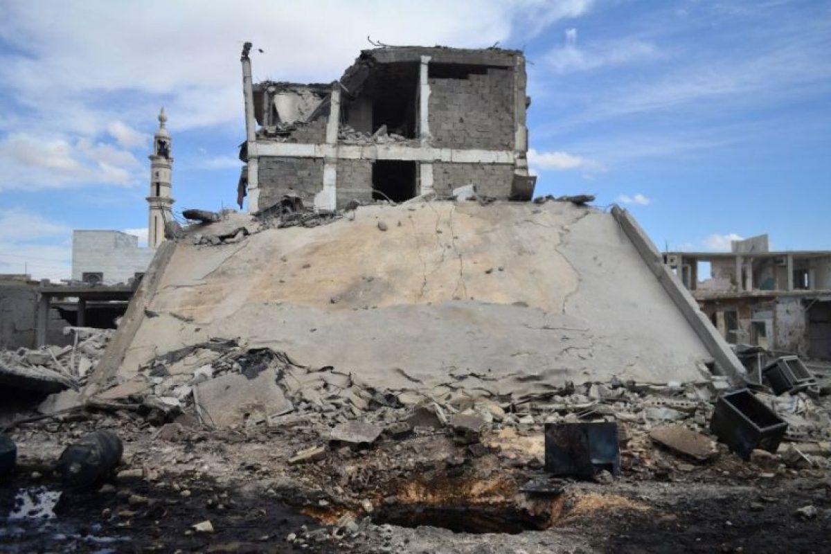 Las cuales estaban bajo el control de Jaish Al-Fatha, un grupo de opositores al régimen de Al Assad Foto:AFP