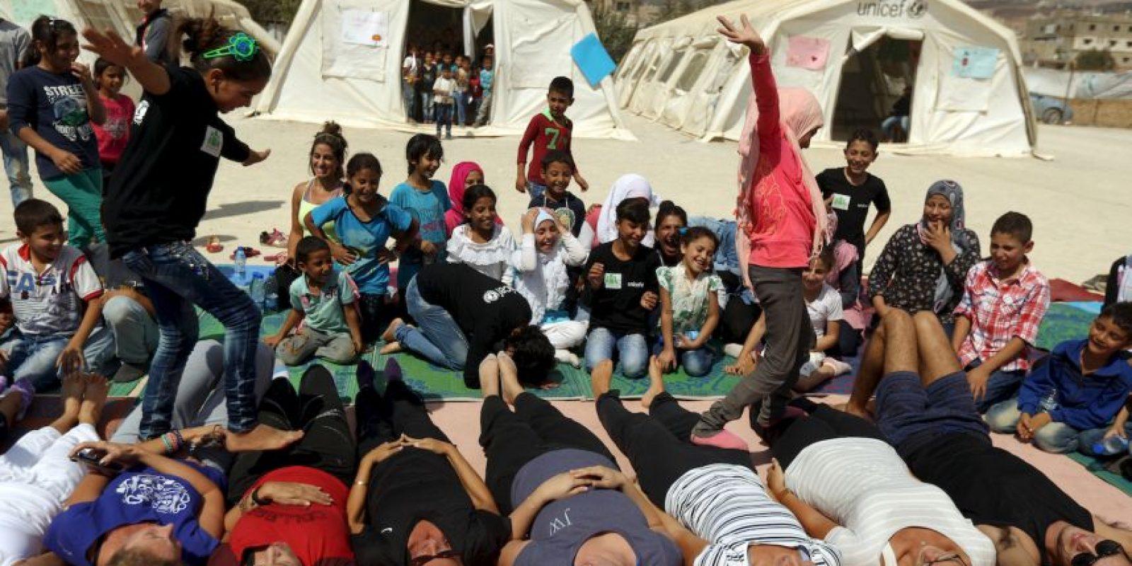 3. Este año han muerto dos mil 881 personas en el Mediterráneo. Foto:AFP