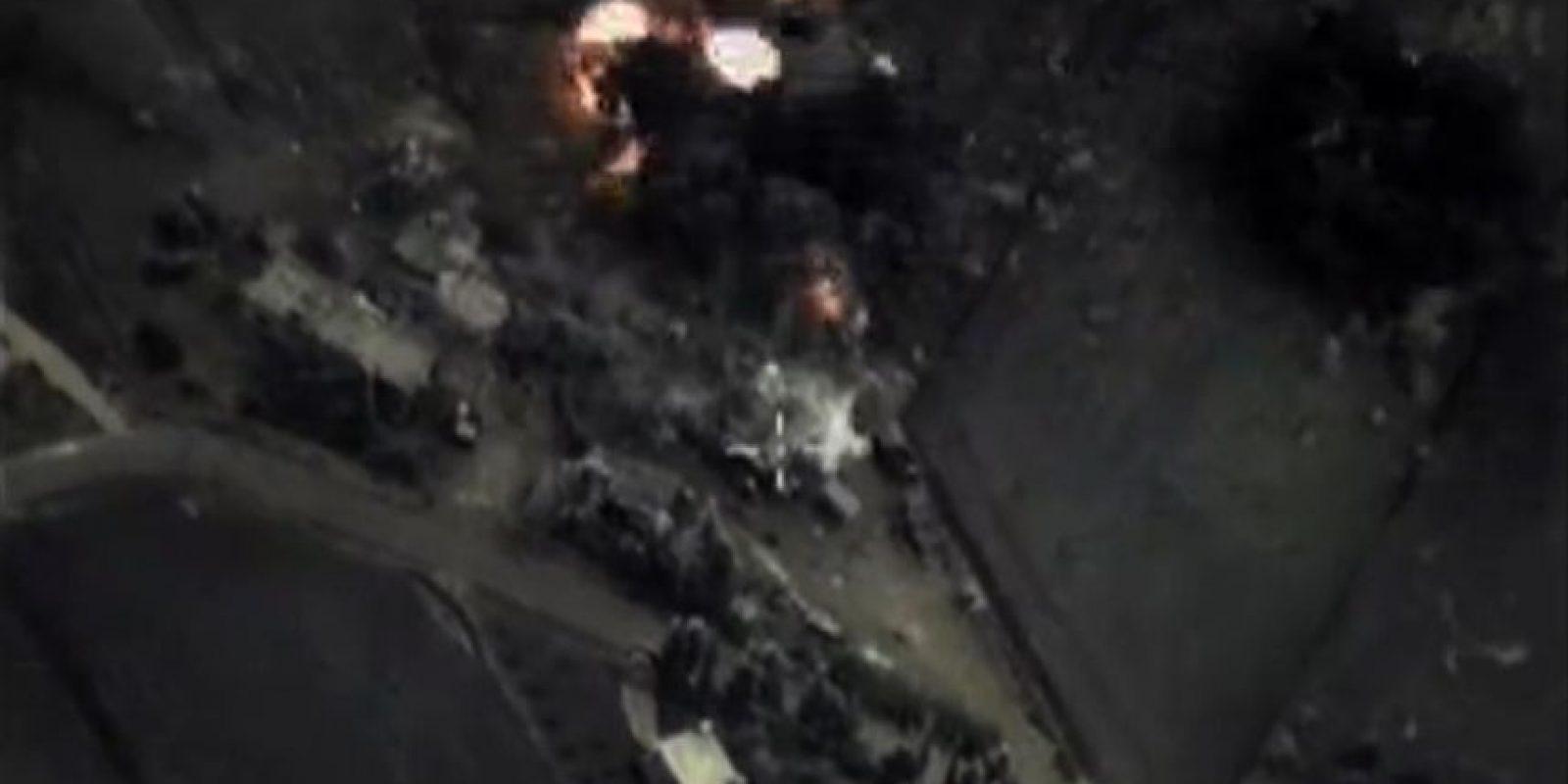 """Aunque al principio lo negó, el Kremlin aceptó que sus ataques incluyeron """"objetivos que no son de ISIS"""". Foto:AFP"""