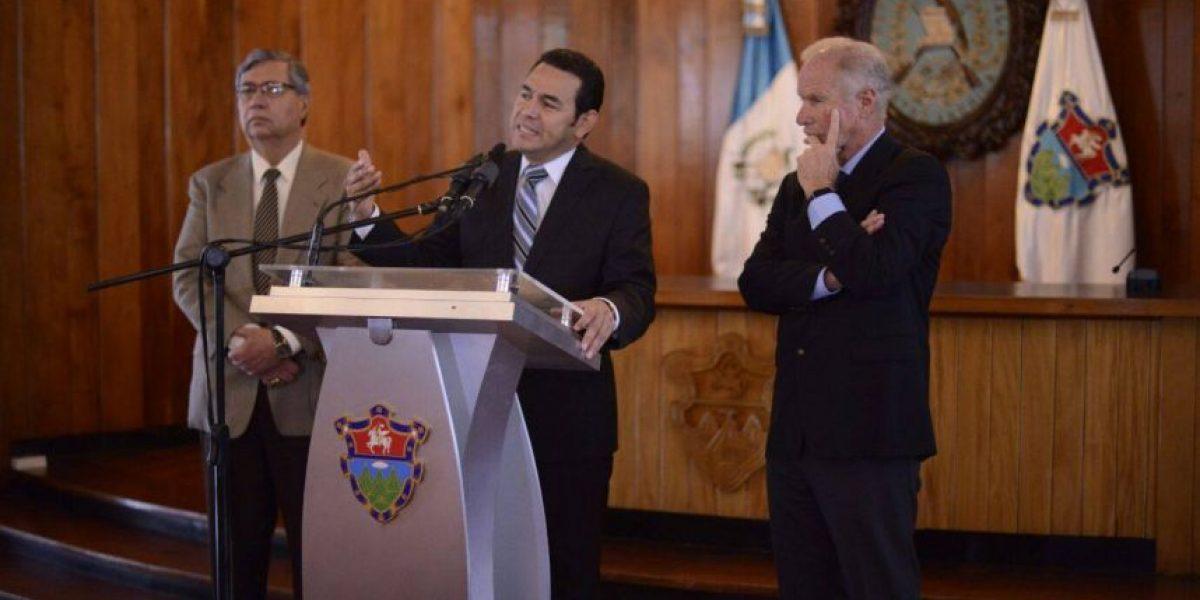 Así fue el acercamiento de Jimmy Morales con Arzú