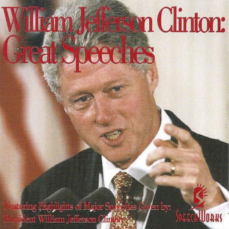 También hay una recopilación de sus discursos disponible en Spotify. Foto:Getty Images