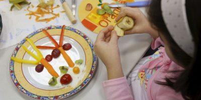 3. Almuerzo: • Verduras, arroz basmati integral, lentejas mezcladas, garbanzos, y varios frijoles Foto:Getty Images