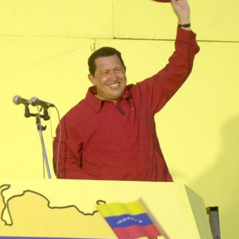 1. Hugo Chávez, expresidente de Venezuela. Foto: Getty Images