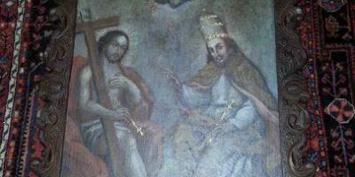 """Fiscalía recupera """"La Trinidad"""", obra de arte del siglo XVIII robada en mayo"""