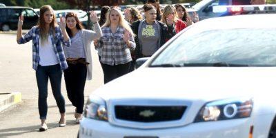 Los estudiantes en la zona fueron tratados como sospechosos. Foto:AP