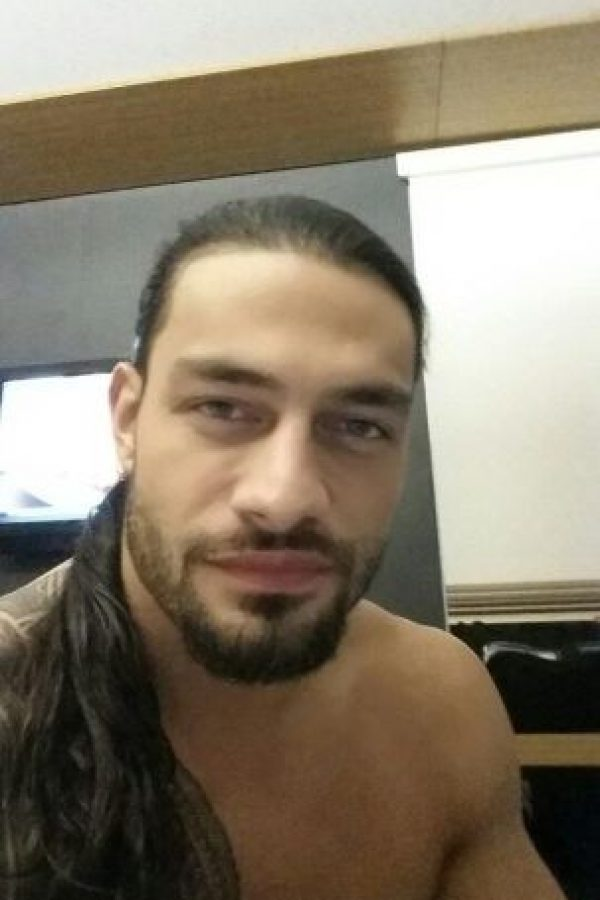 1. Roman Reigns Foto:Vía twitter.com/WWERomanReigns
