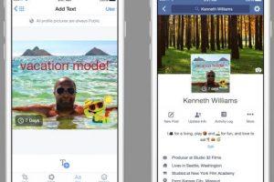 La foto de perfil ahora puede ser un video. Foto:Facebook