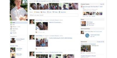 2010. Comienza la estilización del perfil y a lucir de mejor manera. Foto:Facebook