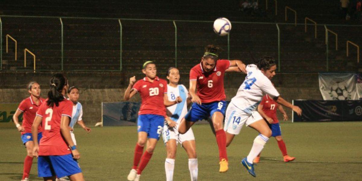 Selección Femenina no pudo ante Costa Rica