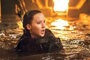 El desenlace de la franquicia protagonizada por Jennifer Lawrence, Liam Hemsworth y Josh Hutcherson. Foto:Entertainment Weekly