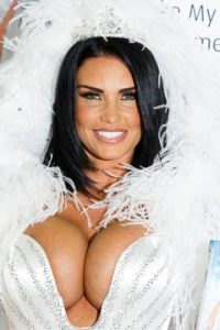 2- Katie Price. Foto: Getty Images