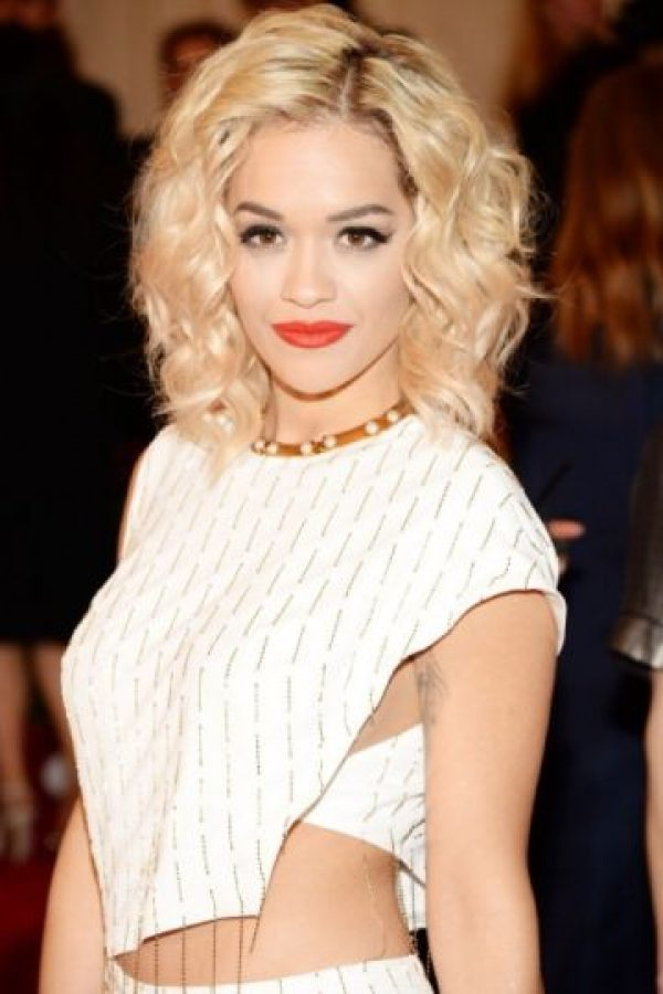4- Rita Ora. Foto: Getty Images