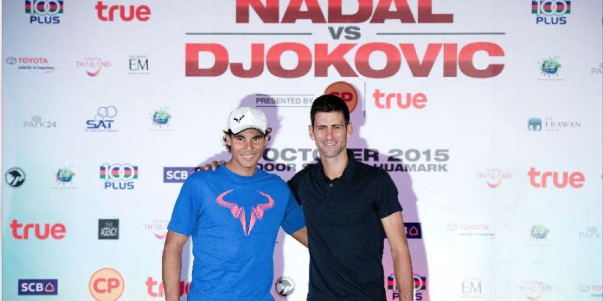 Así habla Nadal sobre Djokovic en la víspera del cara a cara en Tailandia