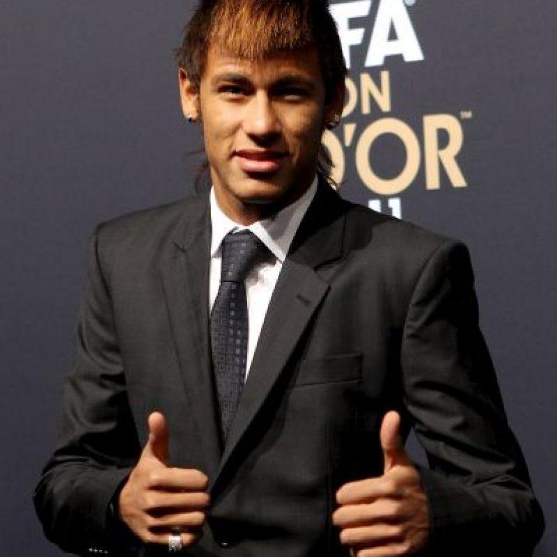 2012 – El brasileño se integró a la elite del fútbol mundial al ser nominado al Mejor Gol del Año por la FIFA. Foto:Getty Images