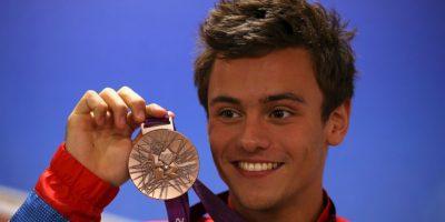 Es el clavadista británico que cautivó a miles de mujeres durante su participación en los Juegos Olímpicos de Londres 2012. Foto:Getty Images