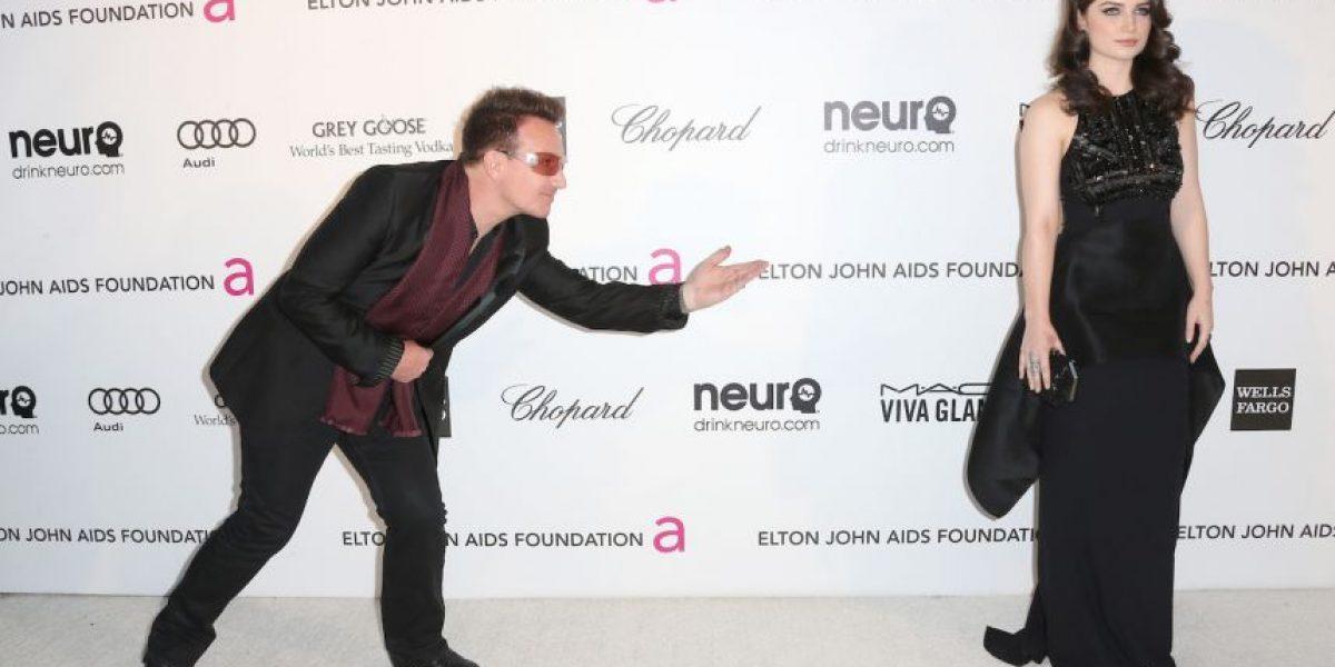La hija de Bono sorprendió al posar en lencería para una revista