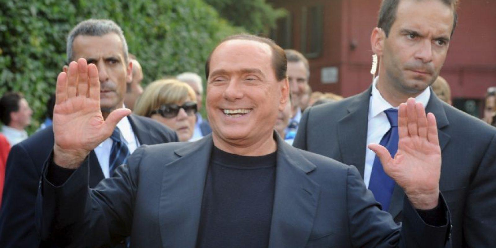 5. Silvio Berlusconi, exprimer ministro de Italia. Foto:Getty Images