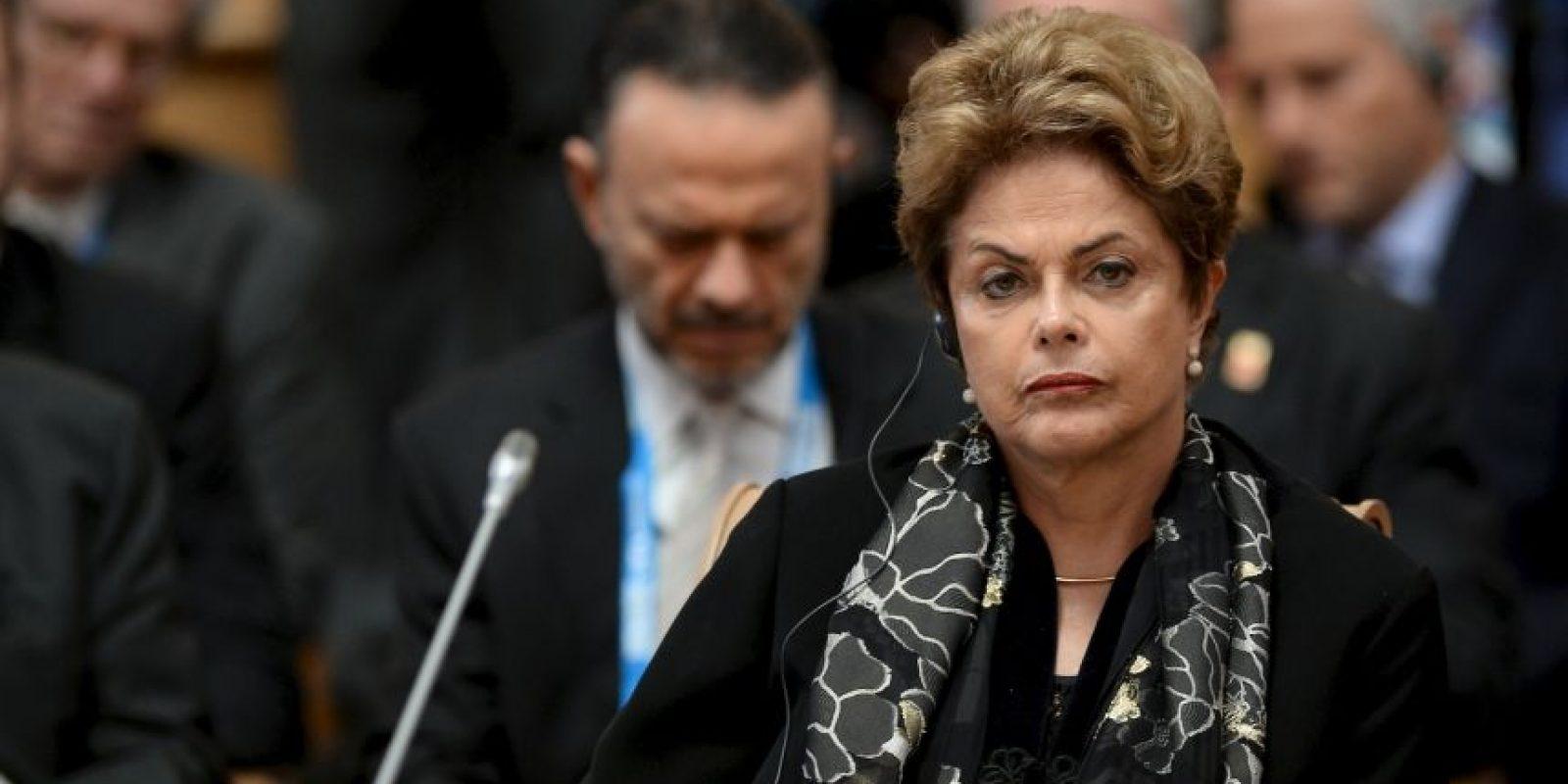 Adquiriendo el cargo del expresidente Luiz Inácio Lula da Silva. Foto:Getty Images