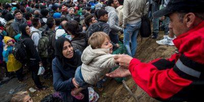 6. Se prevé que entre 2015 y 2016 llegarán 700 mil refugiados a Europa. Foto:Getty Images