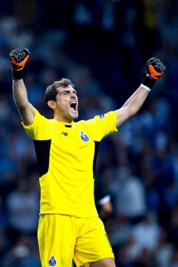 Con 152 partidos, es el futbolista y portero con mayor número de apariciones en la Champions League Foto:Getty Images