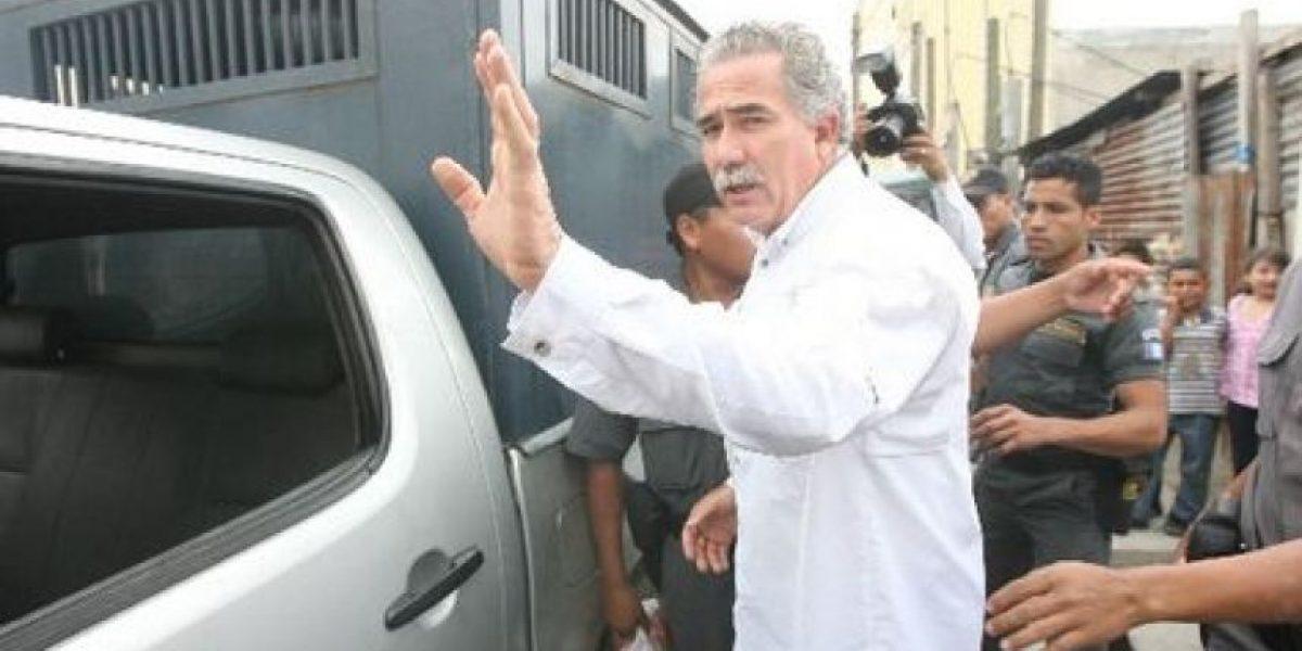 Salvador Gándara vuelve a prisión, esta vez por no tener Q15 millones para fianza