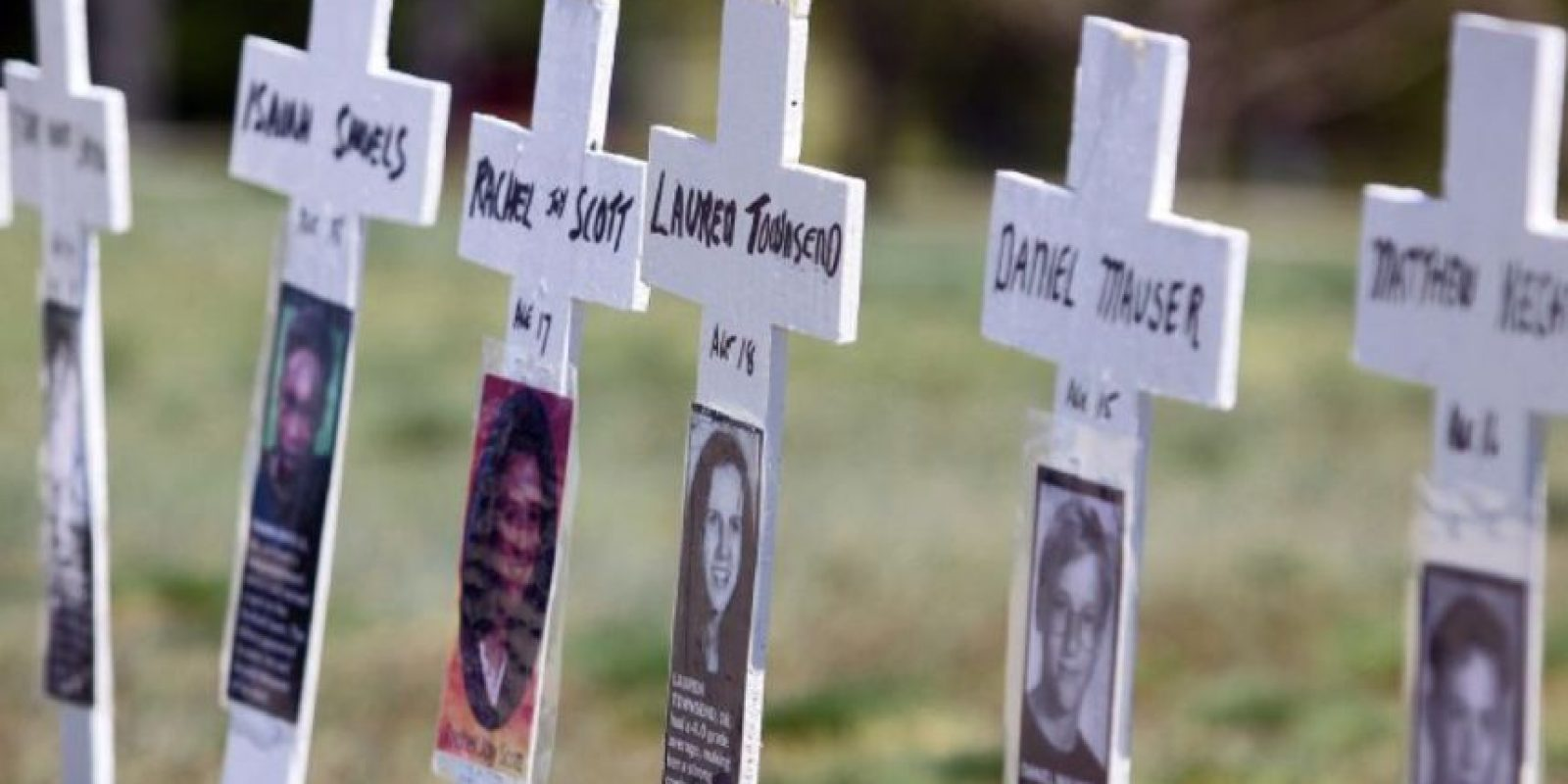 En la Columbine High School, Colorado, murieron a manos de dos pistoleros 13 personas. Foto: Getty Images