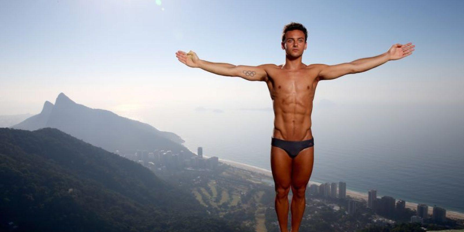 La sexualidad de Daley siempre había sido objeto de polémica, desde que surgió en 2008, pero fue cinco años después que se atrevió a hablar de sus preferencias. Foto:Getty Images